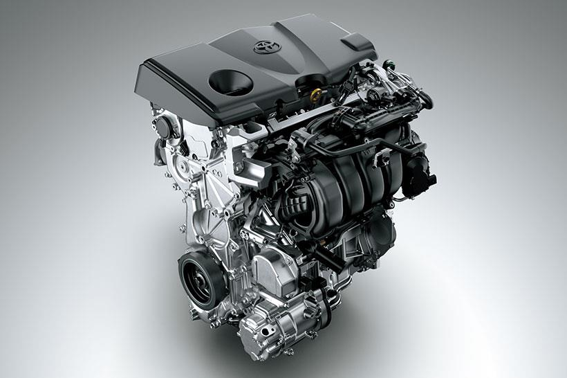HYBRID 新世代 Dynamic Force Engine Hybrid 系統 +  E-CVT 電子控制無段變速系統