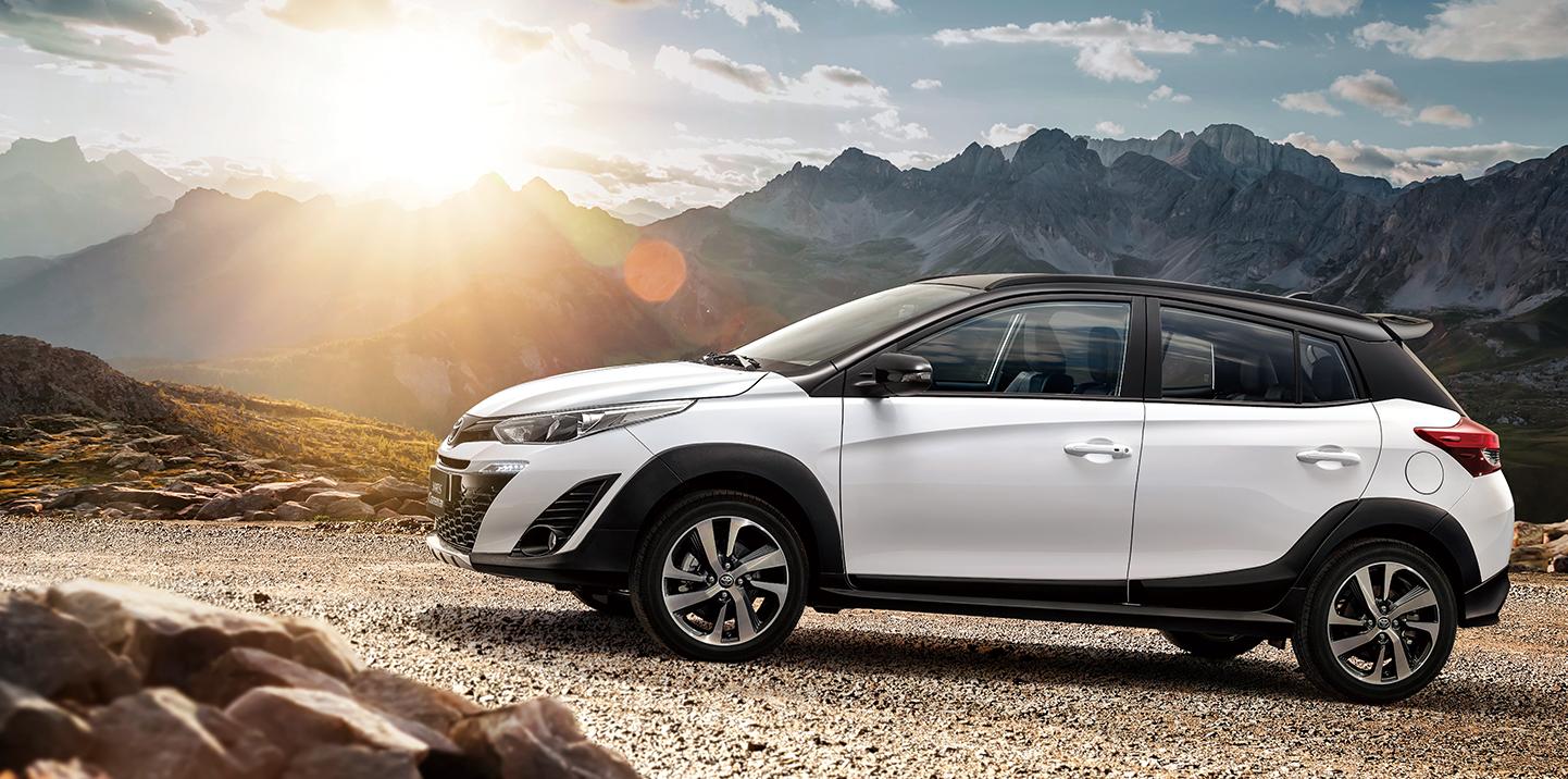 ผลการค้นหารูปภาพสำหรับ Toyota Yaris Crossover 2019